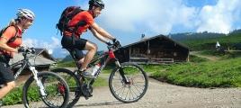 Mountainbiken in den Kitzbüheler Alpen