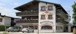 Hotel Glockenstuhl in Westendorf im Sommer
