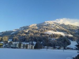 choralpe in westendorf im winter