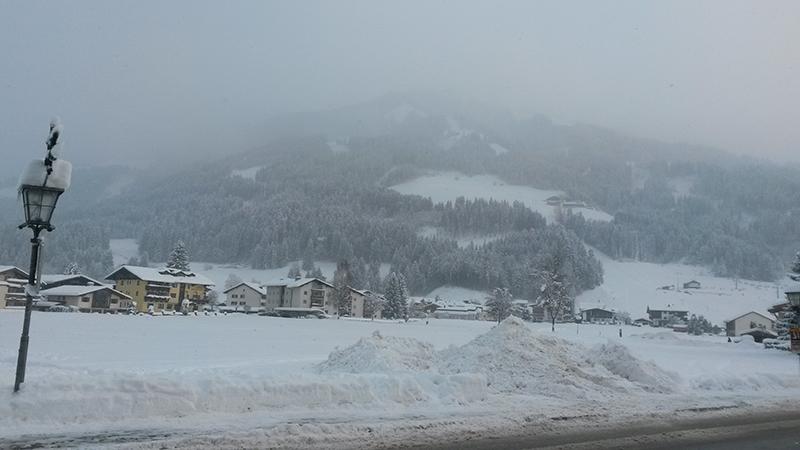 Neuschnee in Westendorf in Tirol
