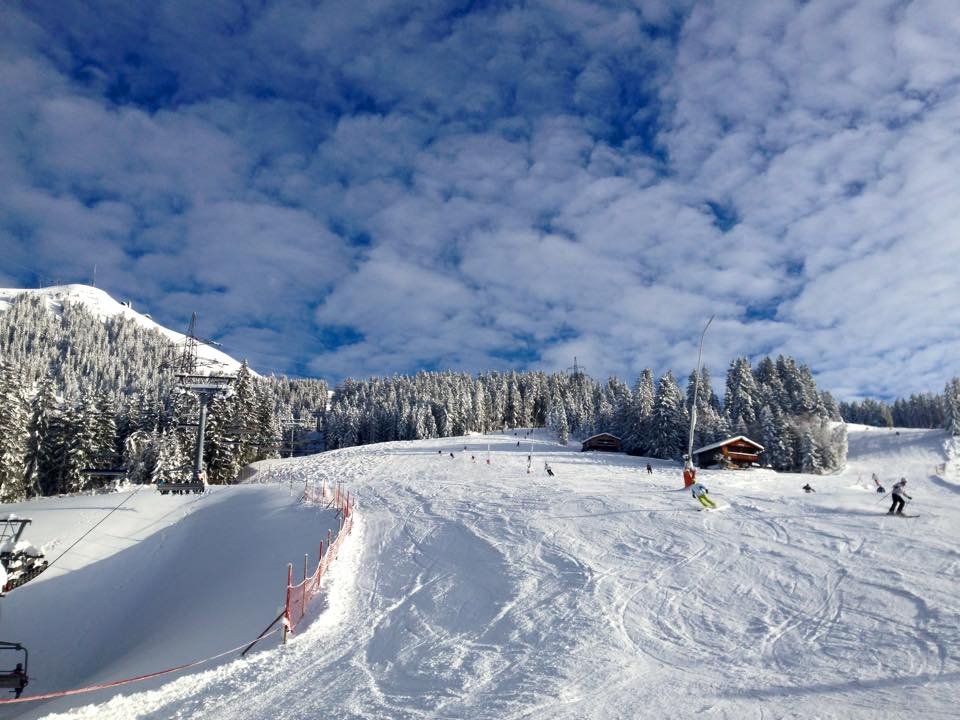 Herrlicher Skitag in Westendorf in den Kitzbüheler Alpen