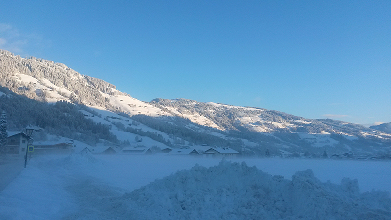 Ausblick nach Brixen im Thale