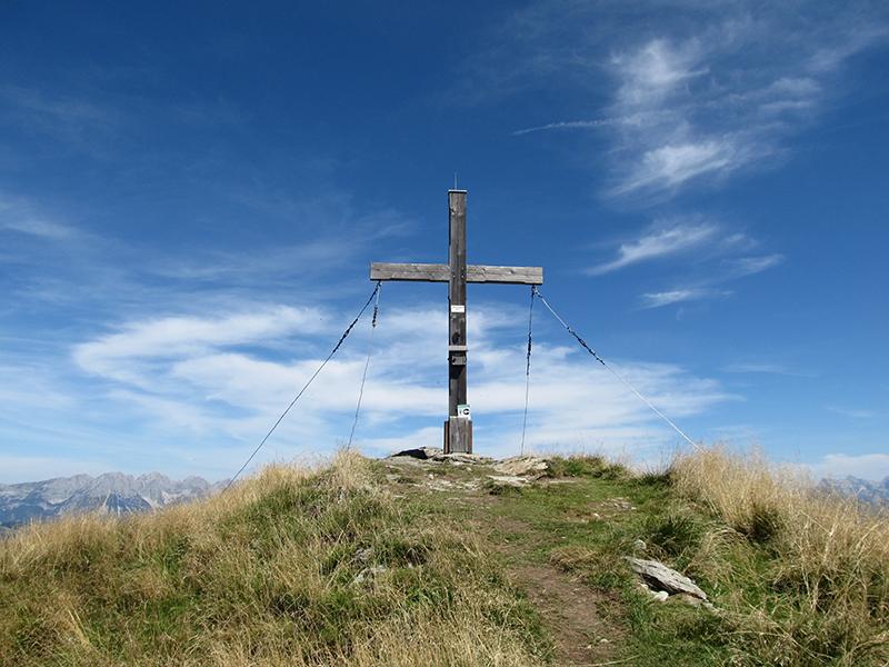 Gipfelkreuz Gampenkogel in Westendorf