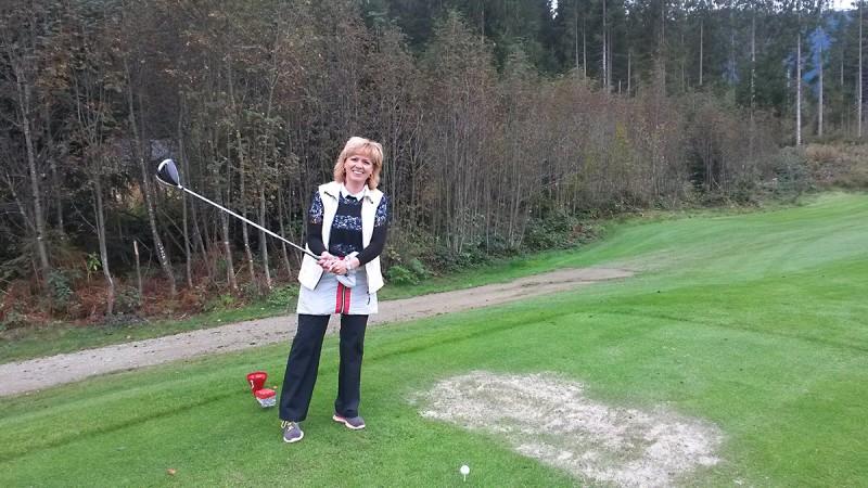 ... mit der Ruhe am Golfplatz ist es vorbei!