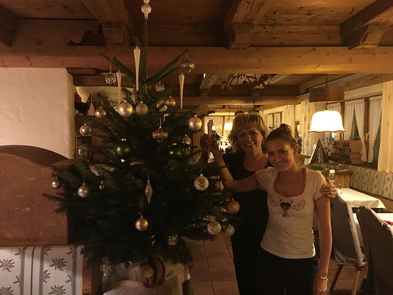 Weihnachten im Hotel Glockenstuhl in Westendorf