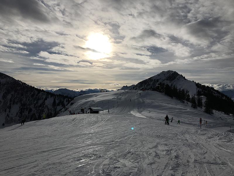 Skifahren am Talkaser in Westendorf
