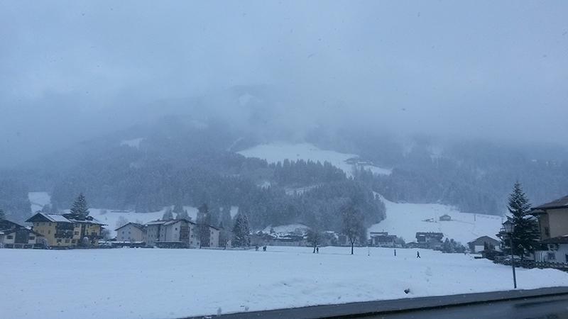 neuschnee in westendorf