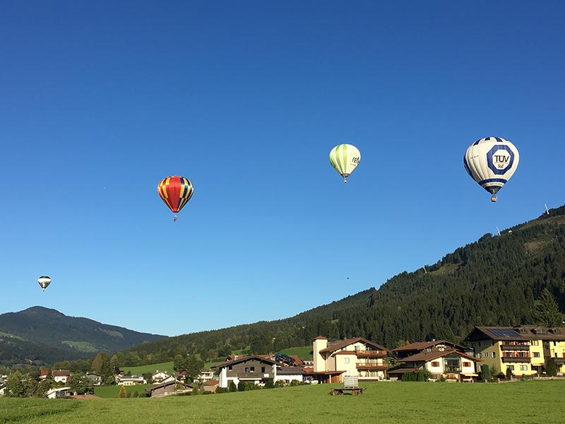 Ballon Cup im Brixental