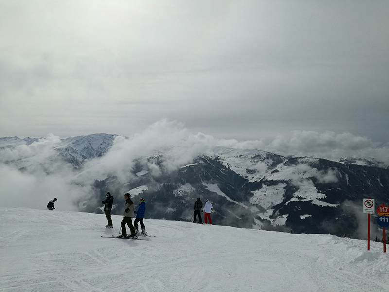 skifahren westendorf märz