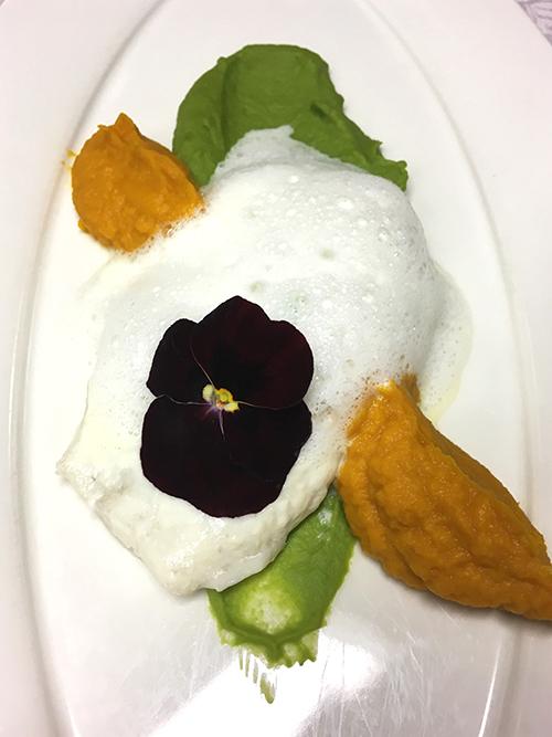 Steinbutt - Erbsen - Karotten - Zitronenthymian