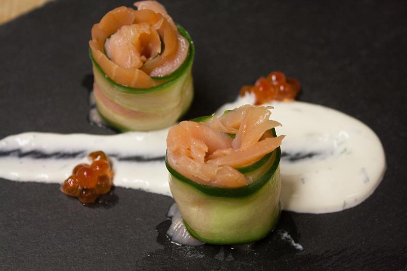 Lachs - Gurke - Dill - Kaviar