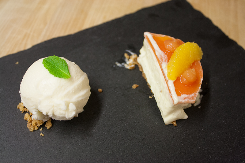 Mascarpone - Orange - Honig