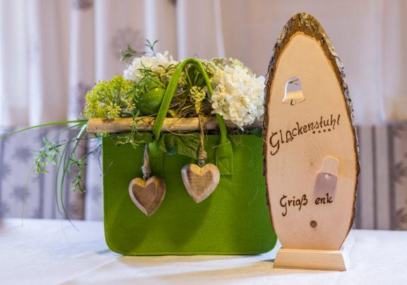 Dekoration im Hotel Glockenstuhl in Westendorf