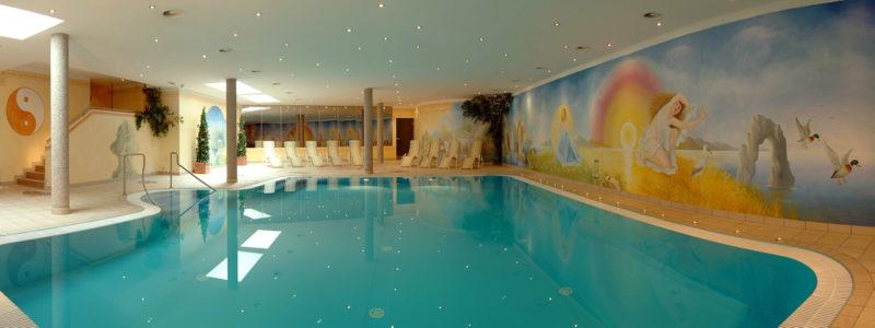 Hallenbad im Hotel Glockenstuhl in Westendorf