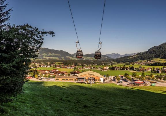 Talstation der Alpenrosenbahn in Westendorf in Tirol