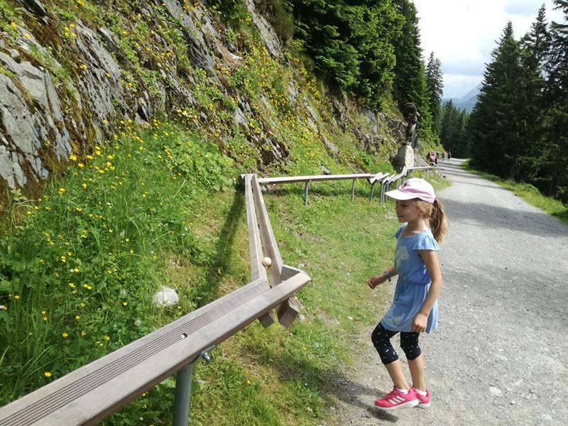 Alpinolino Spoggolino Kugelbahn