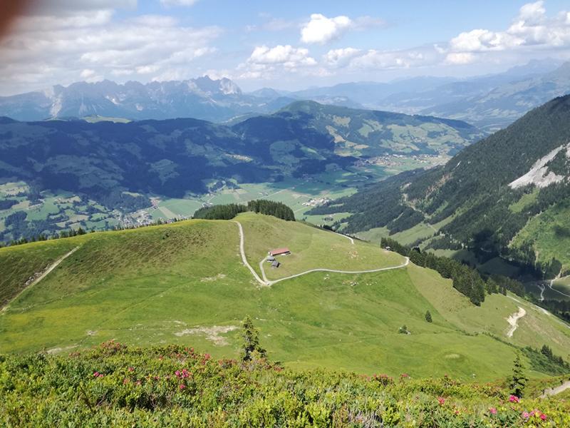 Ausblick nach Kirchberg