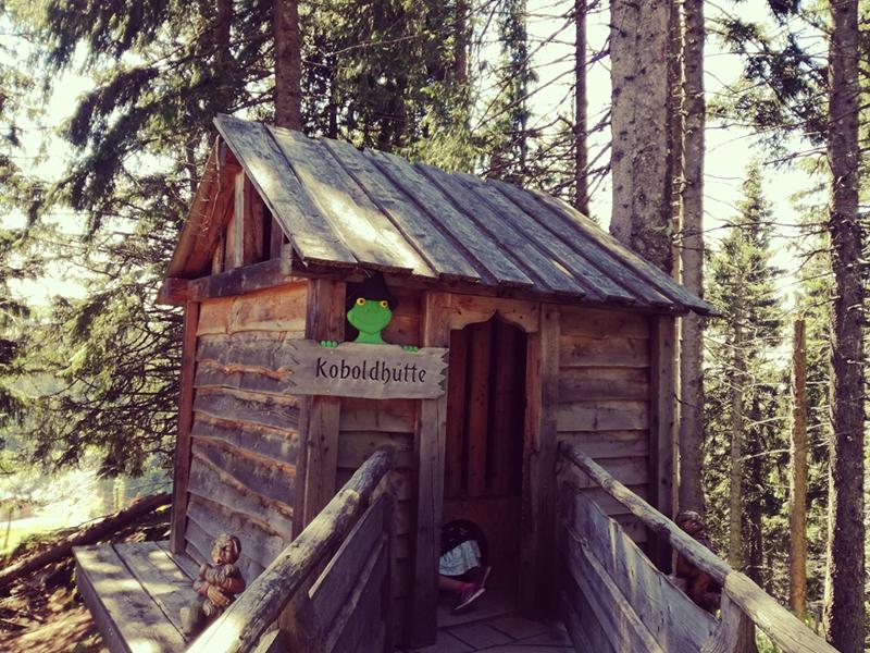 Koboldhütte in Ellmi's Zauberwelt in Ellmau