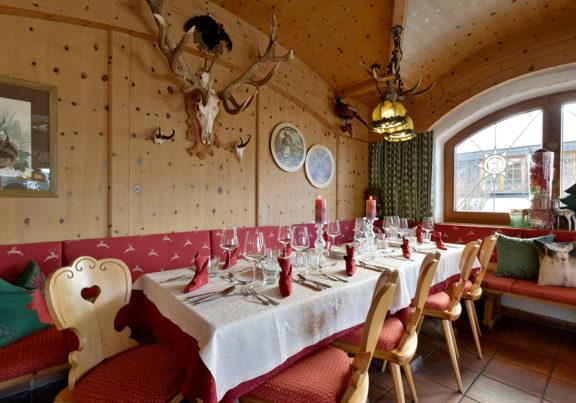 Jägerstube im Hotel Glockenstuhl in Westendorf