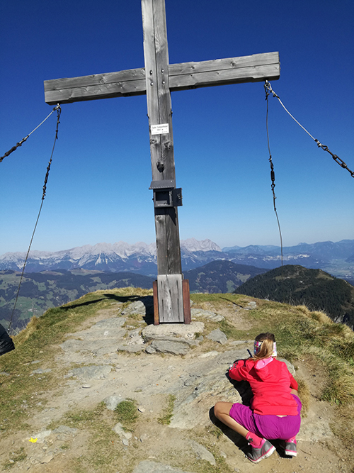 Gipfelkreuz am Gampenkogel in Westendorf