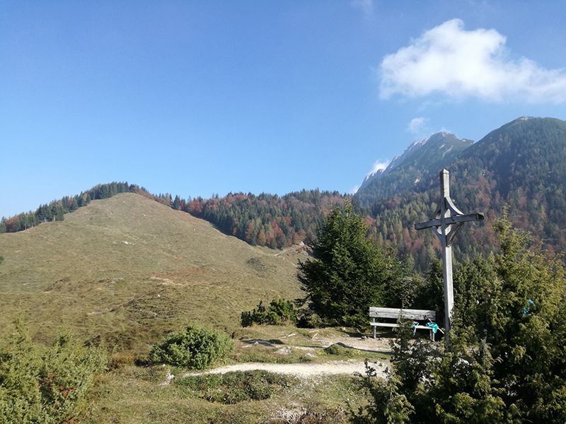 Gipfelkreuz Kreuzbichl