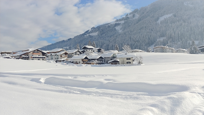 Westendorf im Winter 2019