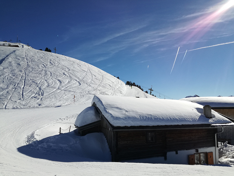 Skifahren in der Skiwelt Hopfgarten