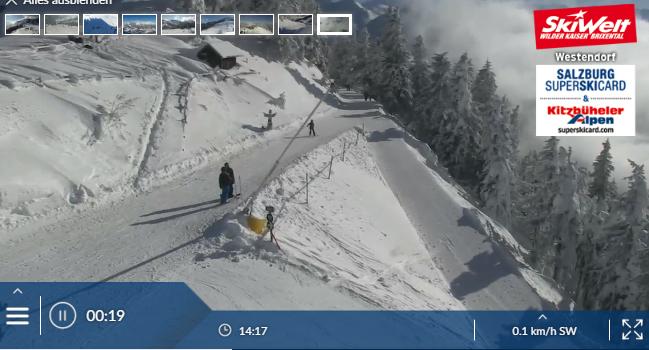 Traumhafte Bedingungen in der Skiwelt Wilder Kaiser - Brixental