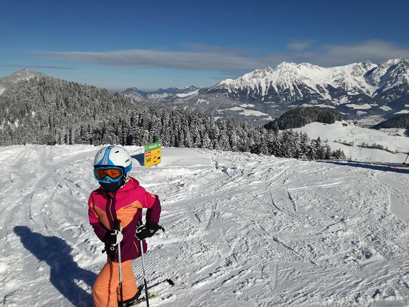 Skifahren in der Skiwelt Itter und Söll