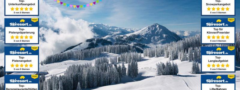 Skiwelt auf Platz 1 von 431 Skigebieten