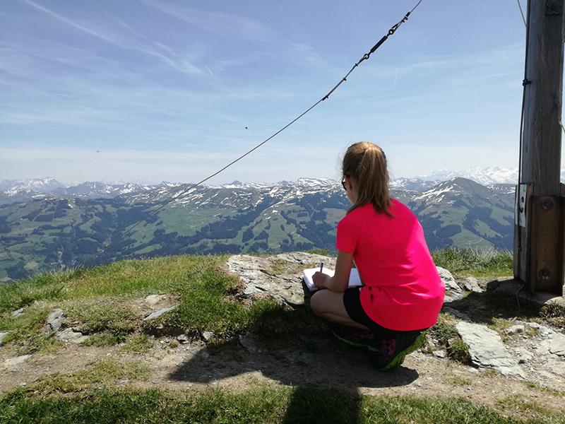 Gipfel Gampenkogel in Westendorf