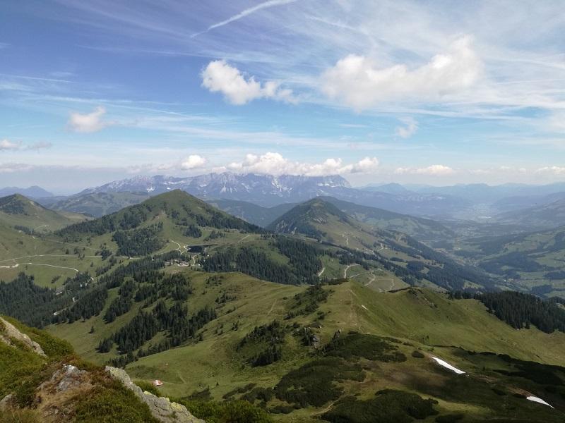 Ausblick vom Brechhorn
