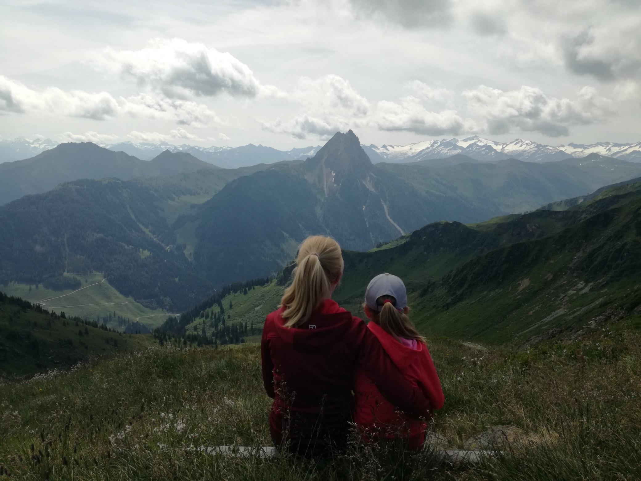Ausblick auf den Großen Rettenstein