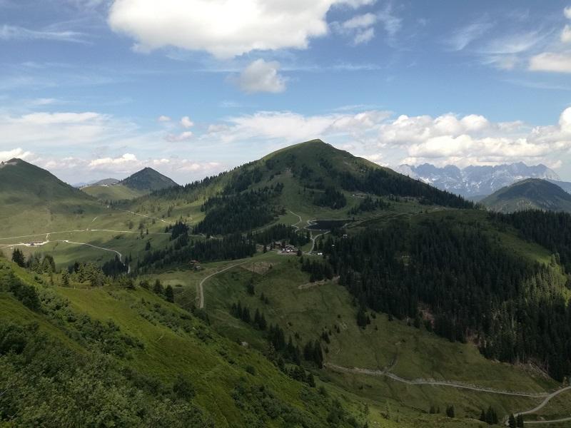Blick vom Brechhorn