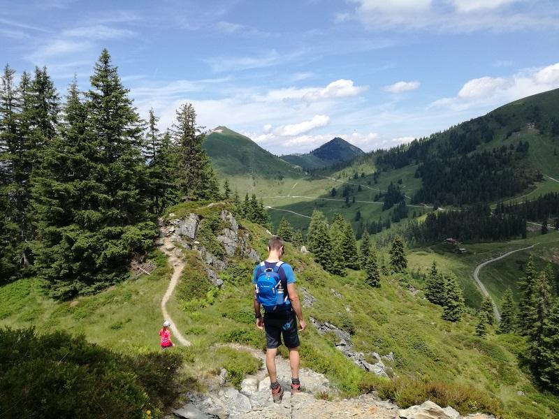 Wanderweg auf das Brechhorn