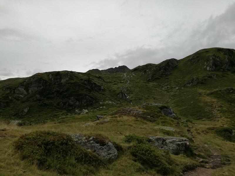 Wanderung zu den Wildalmseen Richtung Schafsiedel