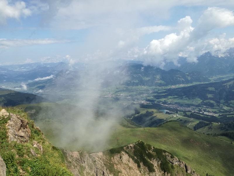 Ausblick vom Wildseeloder in Fieberbrunn