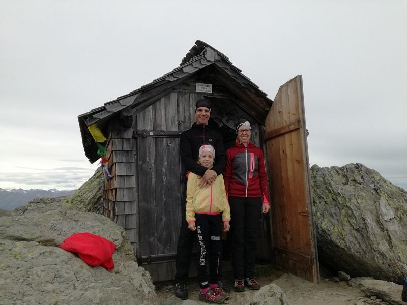 Kapelle auf dem Kröndlhorn auf 2.444 m