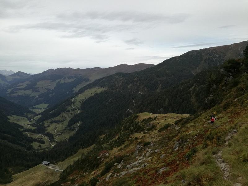 Ausblick auf die Rotwandalm