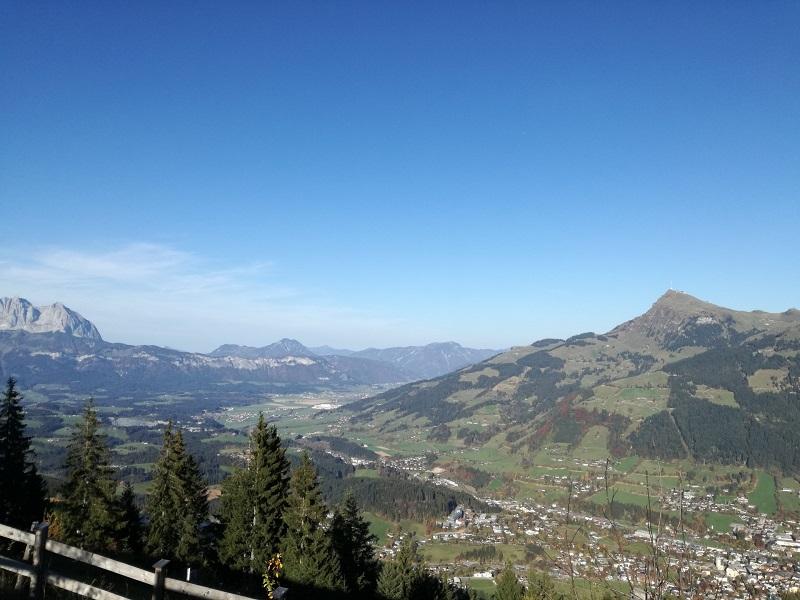 Blick vom Seidlalmsee in Kitzbühel