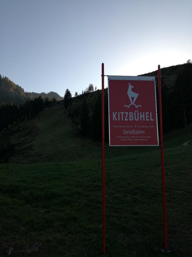 Streif Abfahrt in Kitzbühel
