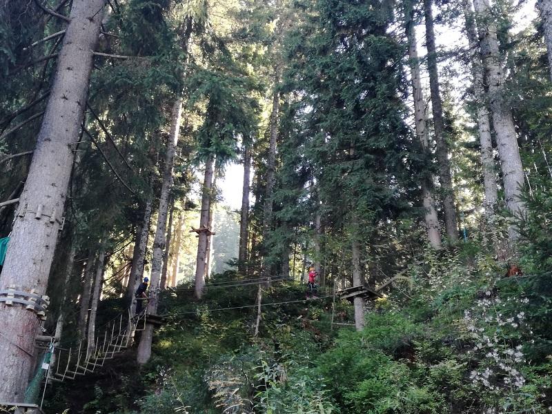 Hornpark in St. Johann in Tirol