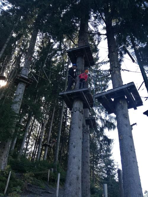 Kletterpark Hornpark in St. Johann in Tirol