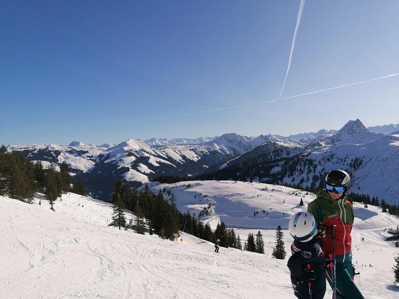 Skifahren in der Skiwelt Westendorf