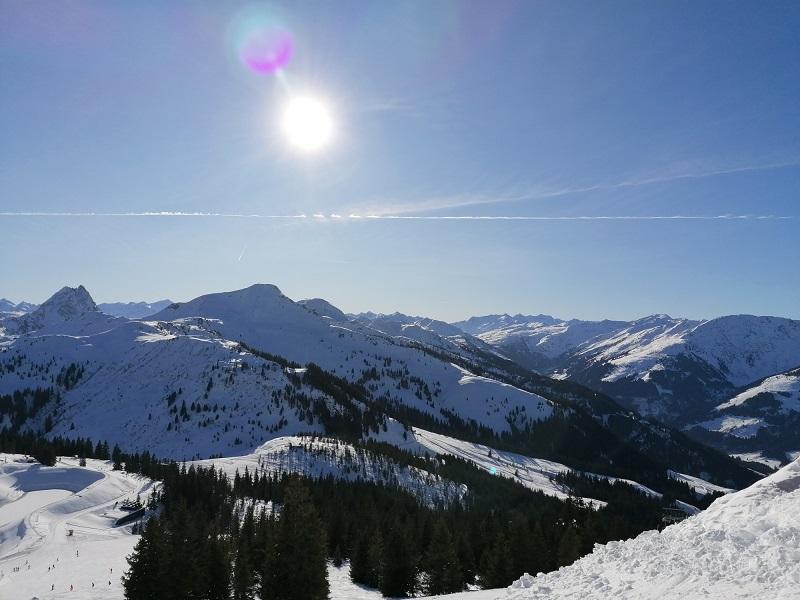 Perfekter Skitag in Westendorf