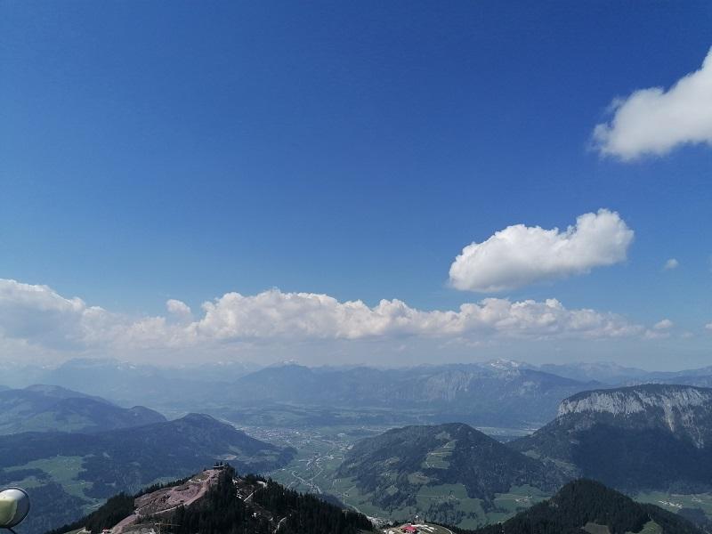 Blick von der Hohen Salve in Hopfgarten