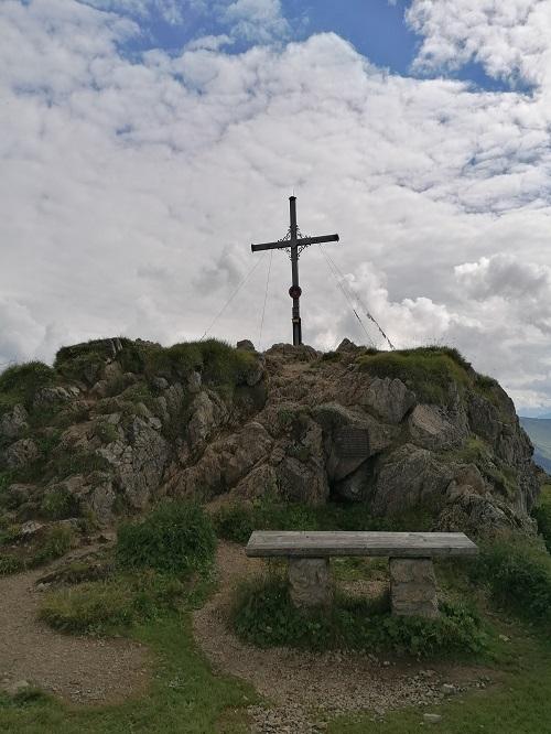 Gipfelkreuz Gratlspitz in Brixlegg