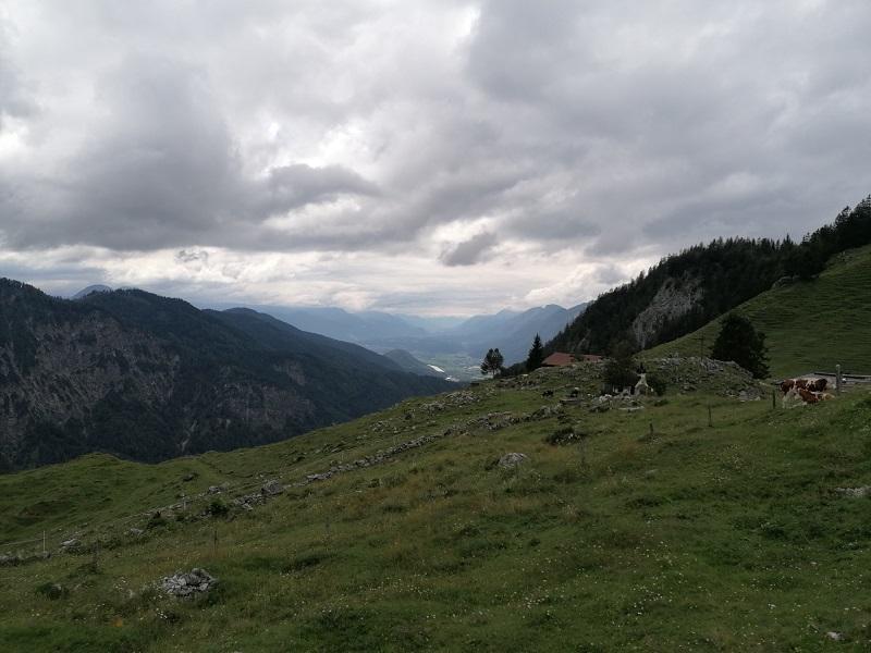 Ausblick von der Ritzau Alm