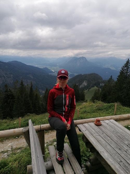 Terrasse Vorderkaiserfeldenhütte