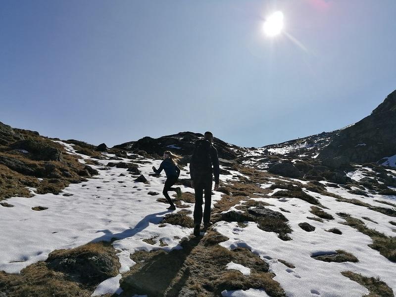 Wanderung Wildalmseen Kelchsau